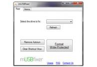 تعمیر فلش مموریهای خراب با نرم افزار  mUSBfixer 2.0
