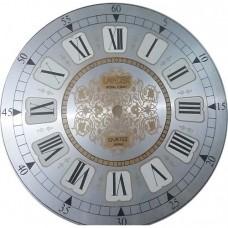 صفحه ساعت دیواری سایز صفحه22.5 سانتی فلزی سفید