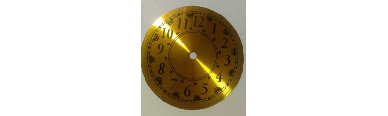 صفحه ساعت طلایی قطر 14/3 سانتی
