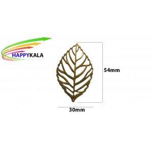 برگ فلزی طلایی