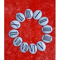 اعداد رومی فلزی چاپ کوره ای