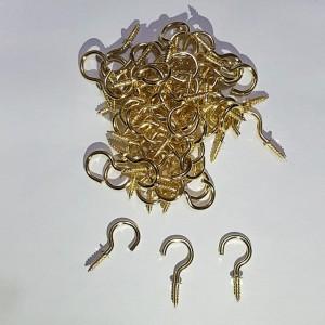 قلاب جا کلیدی کوچک طلایی