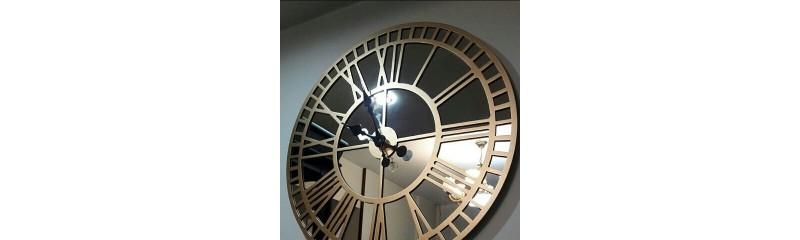 ساعت دیواری اینه ای